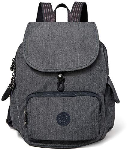 Kipling Damen City Pack S Rucksack Blau (Active Denim)