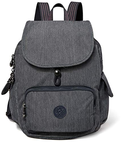 Kipling Damen City Pack S Rucksack Blau (Active Denim)