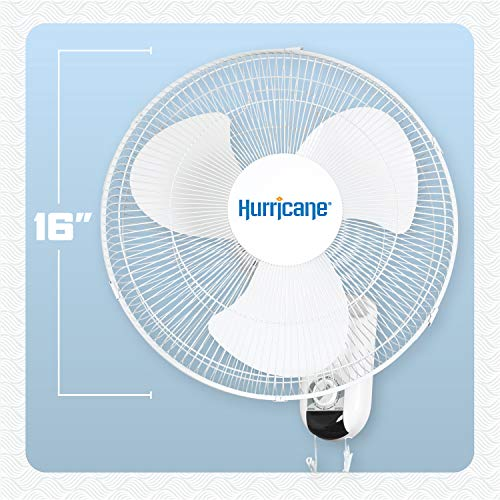 Hurricane HGC736503 Wall Mount Fan 16 Inch