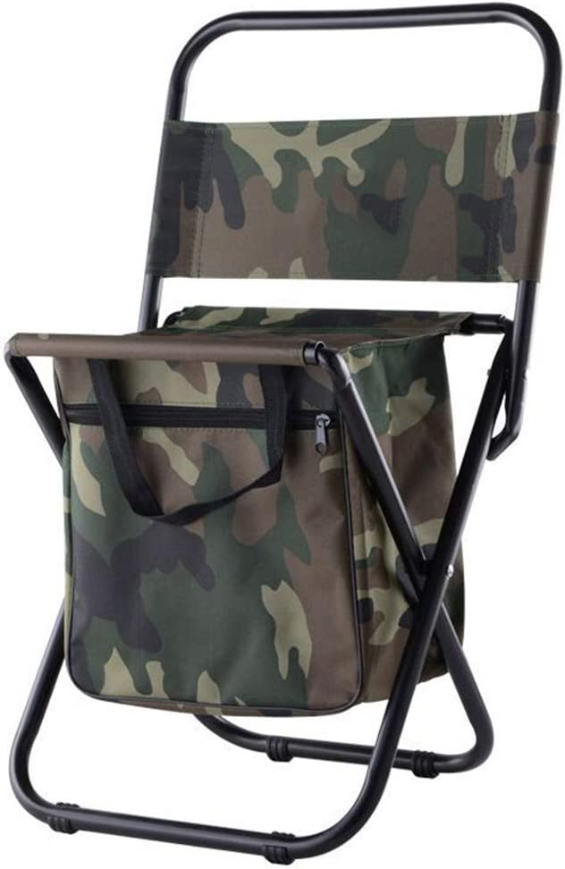 Backrest Stool Combo Max 76% OFF Chair Lightweight Branded goods Folding Portable Compact