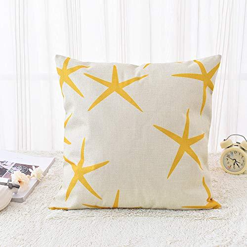 Sofakissen einzelnes gelbes Kissen nach Hause weiches Kleid Modell Zimmer Villa von Tasche, 2 (4 Stück)