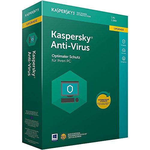 Kaspersky Anti-Virus Upgrade (Code in a Box). Für Windows Vista/7/8/8.1/10