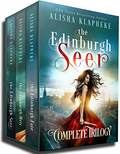 The Edinburgh Seer Complete Trilogy: A Scottish Fantasy (Alisha Klapheke Bundles)