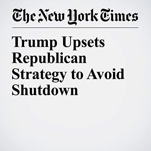 Trump Upsets Republican Strategy to Avoid Shutdown copertina