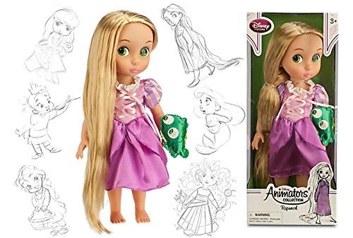 Poupée princesse RAIPONCE 40 cm Disney ANIMATOR