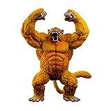 40Cm Dragon Ball Golden Great Ape Goku Super Modelo Grande Decoración Regalo Juguete para Niños...