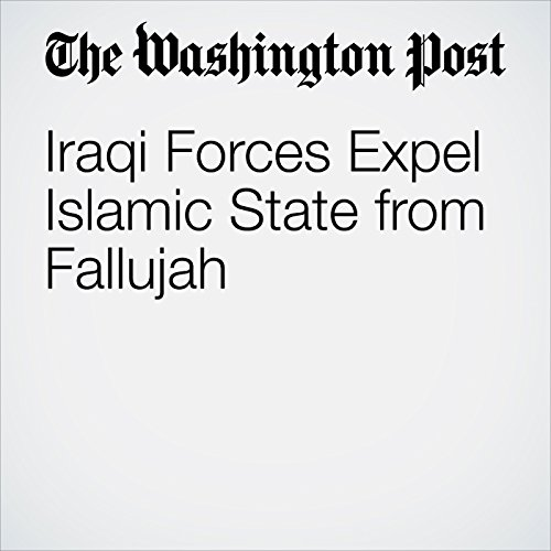 Iraqi Forces Expel Islamic State from Fallujah cover art