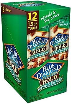 12-Pack Blue Diamond Almonds 1.5 oz. Tubes