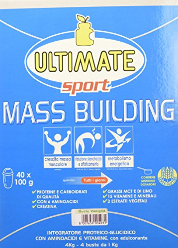 Ultimate Italia Gainer Vaniglia - 4000 gr