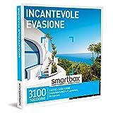 Smartbox - Incantevole Evasione- Cofanetto Regalo Coppia, 1 Notte con Colazione per 2 Persone, Idee Regalo Originale