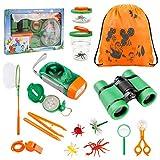 Tintec Kit Explorador Niños, Juguetes de Exploración 24 Piezas Al Aire para Niños de 3-10 Años,...