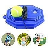 RHsia Tennis Trainer Rebound Ball, Tennis Trainer Equipment Base Single Practice Tennis Tool with Elastic Rubber String for kids,Tennis Beginner.