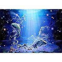 大人のための5Dダイヤモンド絵画キット12星座射手座フルドリル刺繡クロスステッチアートクラフトキャンバス供給家の壁の装飾刺繍ダイヤモンドモザイクアクセサリー40X50cm