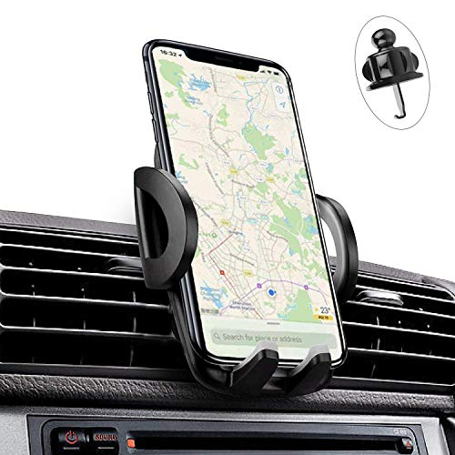 iAmotus® Handyhalterung Universale KFZ Handy Halterung Auto Vent Handyhalter Smartphone Halterung 360° Drehbar Phone Halter für iPhone X Max/XS/XR/8/7/6 plus, Samsung S10 S9 Huawei P30 Xiaomi GPS