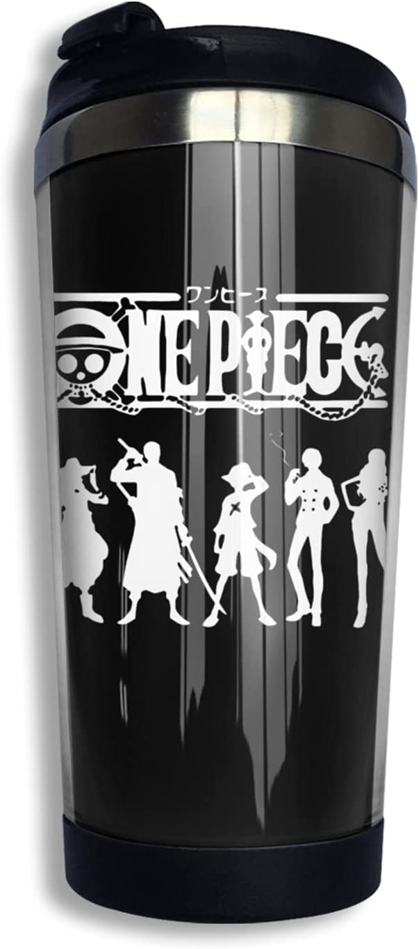 Denver Mall One Piece Anime Coffee Cup Nippon regular agency Print Mug Cute Thermos 3d