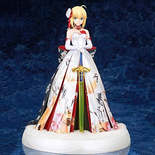 Fate / Grand Order Kimono Pretty Girl Saber Fairy Disfraz Figura de accin D animacin Modelo de Personaje Decoracin Estatua Juguetes Coleccin Regalo para nios - Excelentes Regalos para nios