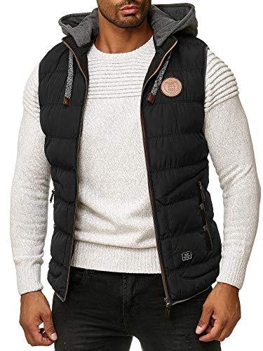 Blackrock - Chaleco para Hombre - Sin Mangas - Slim-Fit - con Cuello Alto - Negro x-Large