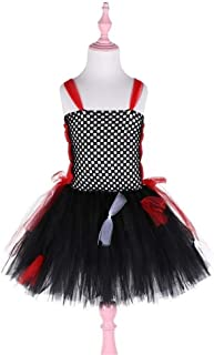 Beautiful Dance Skirt Red/Purple Costume Kids Performance Suit Costume Fashion (Color : Red, Size : 100)