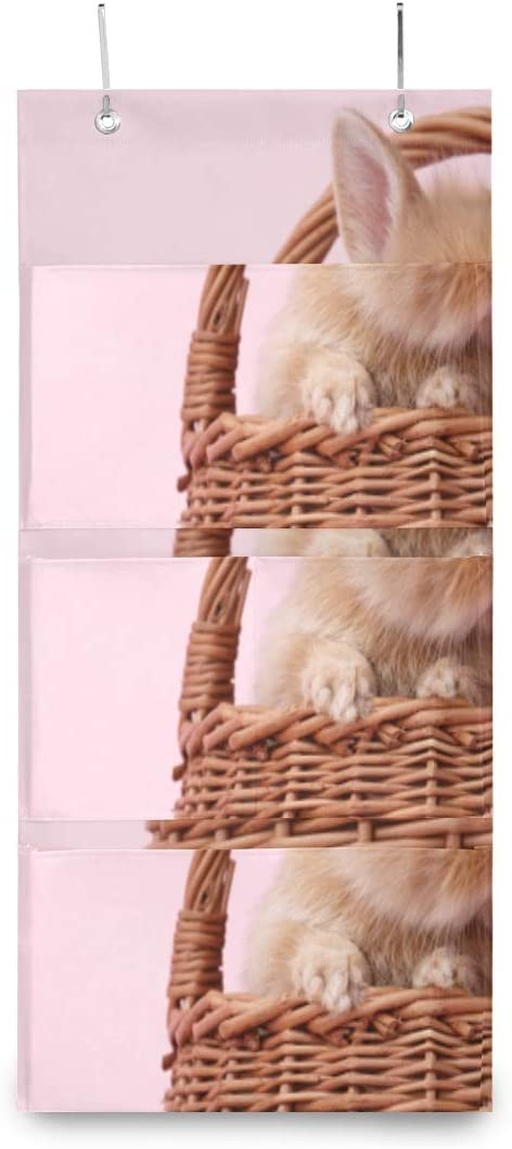 XDCGG Hanging Storage Bag Cute Decora Ginger Basket Ranking TOP9 Bunny Rabbit Safety and trust