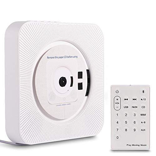 SCKL CD Walkman draagbare muur bevestigde Bluetooth stereo MP3-afstandsbediening CD-speler