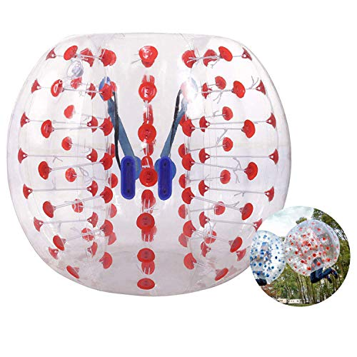 Hurbo Inflatable Bumper Ball Bubble Soccer Ball Giant Human Hamster Ball for Adults and Kids (Red Dot)