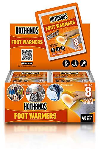 Hot Hands fotvärmare, 40 par