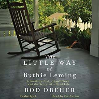 The Little Way of Ruthie Leming audiobook cover art