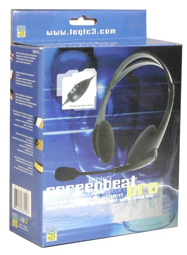 PC - Kopfhörer inkl. Mikrophon Pro (Logic3)