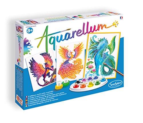 AQUARELLUM - ANIMAUX MYTHIQUES