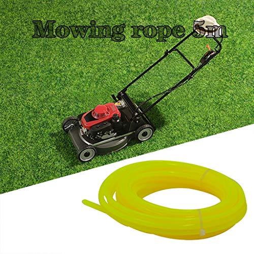 4mm olieslang benzineslang gasslang voor bosmaaiers trimmer mower bosmaaier gazontrimmer accessoires, 5M geel
