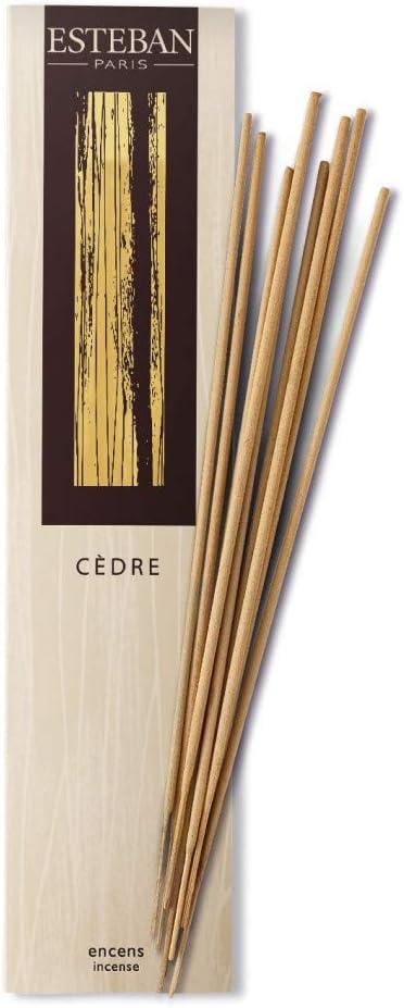 Esteban Cedre Bamboo Stick Incense 20 Incense Sticks