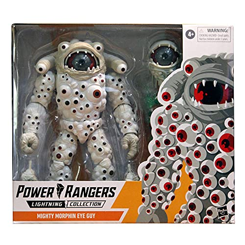 Power Rangers Lightning Collection Mighty Morphin Eye Guy Classic Monster 6-Inch Premium Collectible Action Figure Toy with Accessories