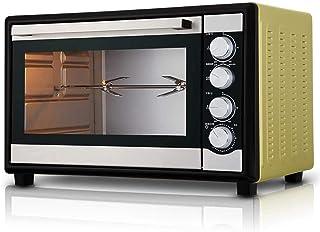 TGhosts Horno, 46L mini horno de 250 ℃ temperatura ajustable y 120 minutos de temporización 2000W de cuatro capas de Hogares Comercial de aire caliente parrilla Tenedor Fermentación Independiente Temp