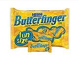 Nestle Butterfinger Fun Size Bars. Crispety, Crunchety, Peanut-Buttery!. 2 packs