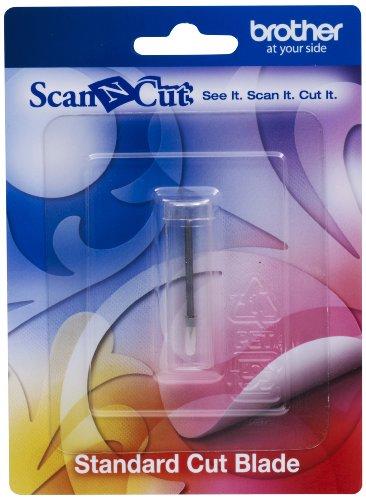 Brother CABLDP1 Scan-N-Cut - Cuchilla estándar, Color Plateado