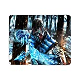 Mortal Kombat Mouse Pad MK Subzero Cool Gaming Mouse Mat Non-Slip Rubber Mousepad for Home Office Working Computer Laptop Desk 12x10 Inch