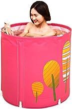 Vouwbare kunststof badkuip, draagbare vrijstaand huis verdikte bad, ingebouwde comfortkussen, geen opblaasbare rond bad, b...