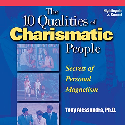 The 10 Qualities of Charismatic People audiobook cover art