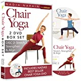 Chair Yoga DVD Box Set with Nadia Narain (2 DVDs)