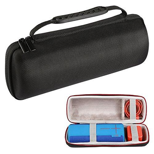 LuckyNV Travel Carrying Case pour Ultimate Ears UE Boom 1 / UE Boom 2 Haut-Parleur sans Fil Bluetooth Noir