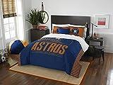 MLB Houston Astros Full Comforter and Sham Set, Full/Queen