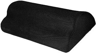 Fenteer Foot Rest Under Desk Non-Slip Ergonomic Footrest Foam Cushion Leg Clearance Foot Rest Under Desk Memory Foam Half ...