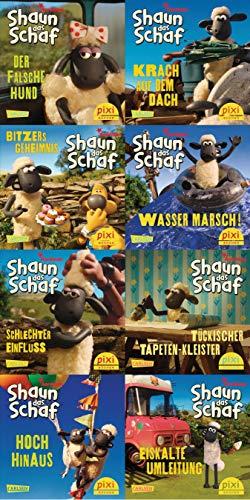 Pixi-8er-Set 228: Shaun das Schaf ist nicht zu bremsen (8x1 Exemplar) (228)
