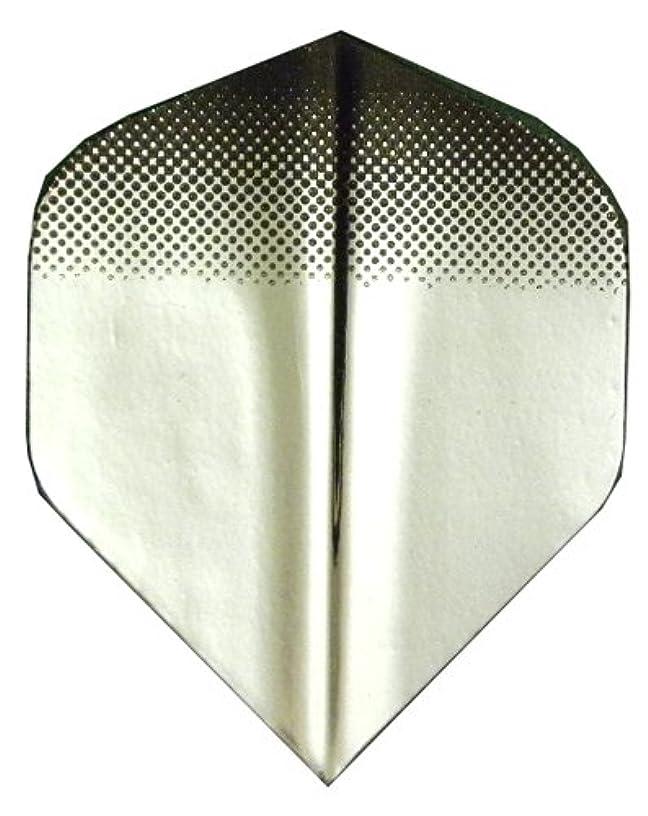 5 Sets #34415 AmeriThon Black Tint To Silver Dart Flights