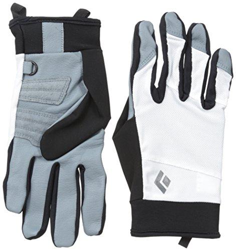 Black Diamond Trekker Cold Weather Gloves, White, Medium