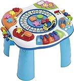 WinFun Baby Spieltisch Activity Tisch mit Piano ABC Lok Motorik Trainer Babyspielzeug