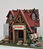 Vineyard Cottage Birdhouse is an Absolutely Adorable Wood Bird House with Vineyard Charm for Your Backyard!
