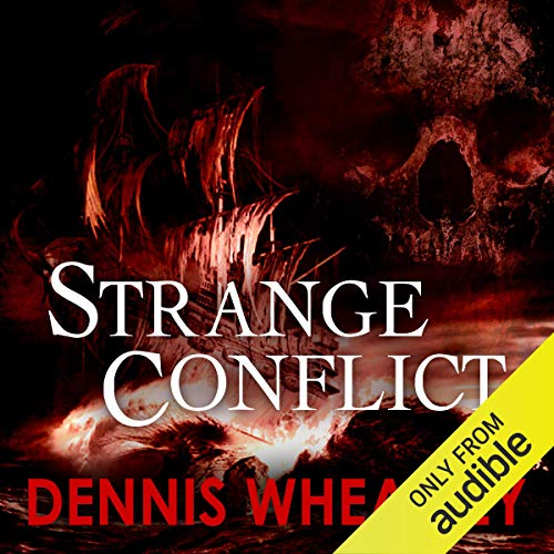 Strange Conflict audiobook cover art