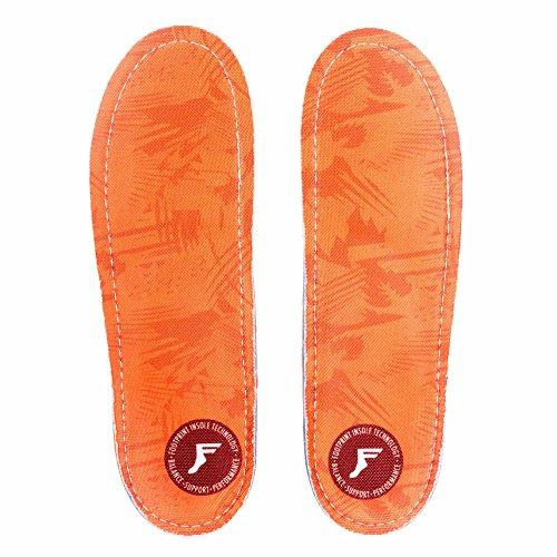 Footprint Einlegesohlen Kingfoam Orthotics Insoles - Mid Profile Orange Camo US 12-12,5