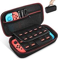 Keten tas voor Nintendo Switch, draagtas voor de Nintendo Switch console, games, Joy-Con en andere Nintendo Switch...